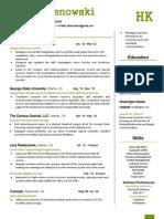 HK Resume 2012