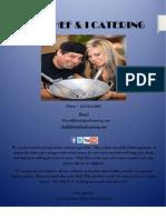 Catering Menu PDF 2012