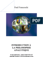 Introduction Philosophie Analytique