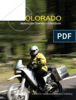 Colorado Motorcycle Manual | Colorado Motorcycle Handbook