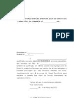 Petição de Juntada de Substabelecimento