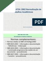 ABNT NBR 14724