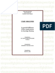 Case Analysis on Lung CA