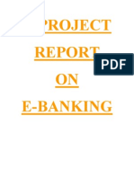 A report onE-Banking