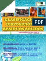Clasificacion y Disposicion de Residuos Solidos By