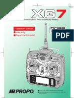 Xg7 Manual
