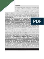 Diferencia Entre Institucion y Organizacion