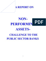 A REPORT ON -NPA IN BANKING