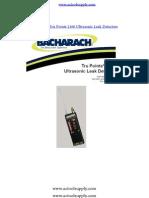 Untrasonice Leak Detector