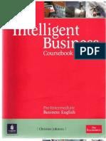 Intelligent Business Pre-Intermediate CB