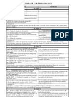 Tabla Resumen Bloques de Contenido Pau 2012