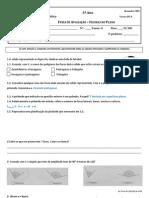 Ficha de avaliação PCA - figuras no plano - correção