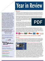 Morristown Partnership - A Year in Review Newsletter (2011)