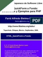 Tutorial HTML QuickForm