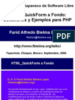 Tutorial HTML QuickForm