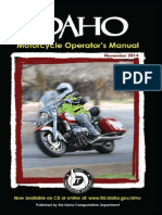 Idaho Motorcycle Manual | Idaho Motorcycle Handbook