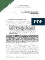 LA INVESTIGACIÓN CIENTÍFICA, SOCIAL Y EDUCATIVA. José Jaime Sánchez Fonseca