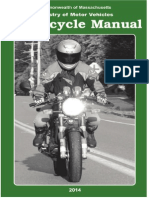 Massachusetts Motorcycle Manual | Massachusetts Motorcycle Handbook