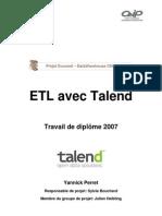 ETL Talend Rapport