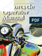 Michigan Motorcycle Manual | Michigan Motorcycle Handbook