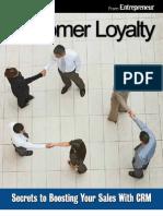 Entrepreneur eBook Customer Loyalty