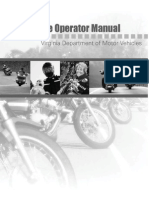 Virginia Motorcycle Manual | Virginia Motorcycle Handbook