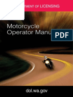 Washington Motorcycle Manual | Washington Motorcycle Handbook