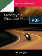 Washington Motorcycle Manual | Washington Motorcycle Handbook