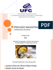 TRABALHO IPF I Fórmulas Magistrais