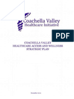 Coachella Valley Healthcare Access and Wellness Strategic Plan 2010