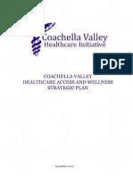 Coachella Valley Healthcare Access and Wellness Strategic Plan 2010