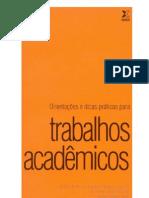 Livro Trabalhos Acadêmicos
