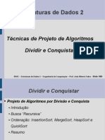 Dividir e Conquistar+Busca