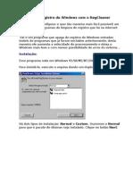 Limpando o Registro Do Windows Com o RegCleaner