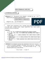 20100329 Sistem Persamaan Linier Spl