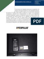 INTERFAZ DE DIAGNÓSTICO PARA CATERPILLAR