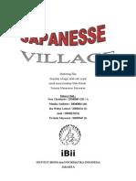 Marketing Plan Japanesse Village