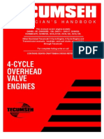 Tecumseh 4-Cycle OHV Engines Service Information