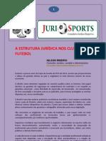 A Estrutura Juridica Nos Clubes de Futebol