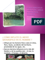 Caracteristicas Fisicas Del Medio Geografico Peruano