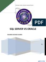 Diferencias Entre Oracle y Ms SQL Server