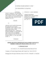 Deutsche v. Williams Decision