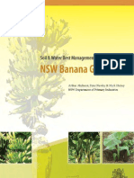 Soil and Water Best Management Practices for Nsw Banana Growers