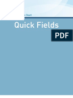 Quick Fields 8 Quick Start