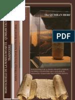 MANUSCRISELE DE LA MAREA MOARTĂ-QUMRAN,2 II-a  FACSIMIL &; TRADUCERE
