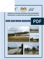 River Sand Mining Management