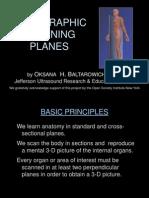 Core Curriculum Sonographic Scanning Planes
