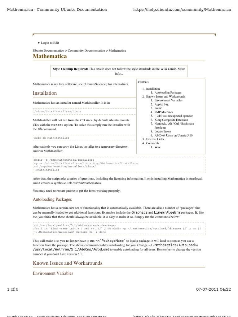 mathematica software free download for ubuntu