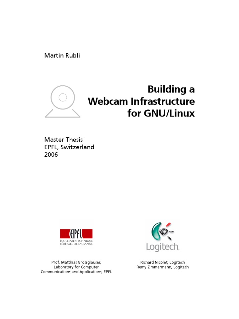 Building a Webcam Infrastructure for GNU Linux | Device Driver