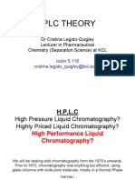 Lecture 2, Fundamentals Hplc
